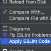 Nuxtの「.eslintrc.js」をIntelliJに読み込ませる