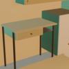 【Blender2.92】家具のモデリング・配列複製モディファイア/Array modifier