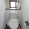 我が家のトイレ、珪藻土塗り完了!