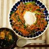 Kit Oisix(キットオイシックス)そぼろビビンバと海苔スープを作りました