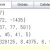 TI-Nspire & Lua / 補外法 2 / 何かを偶数次多項式で補外する / Neville の算法で補外値だけを求める