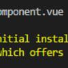 ちょっとVue component試作したいときにpoiを使う