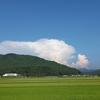 夏雲と鳥海山