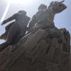 ダカールで見たアジア@北朝鮮協賛のアフリカルネサンスの像