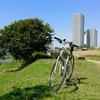 自転車を買ったらまず川沿いの土手を走るよね