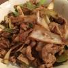 豚コマとネギの味噌炒め