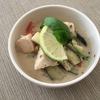 コンビニのサラダチキンをで作る、超簡単辛くないタイカレー!