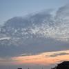 田舎の夕焼け空