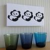 インテリアも盛り方次第 だから手ぬぐいで作るパンダのパネルは、個性的なパンダグッズになるのです