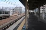 新快速Aシート乗車記(おおさか東線初乗りとAシート体験3)
