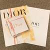 2018年秋Diorノベルティは「ノートブック」らしいよ【Dior】