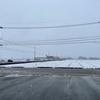 雪が激しく降っています!