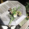 休日の 庭仕事と、大事な 一人時間