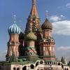 赤の広場のシンボル ワシリー寺院(ポクロフスキー聖堂) @ モスクワ