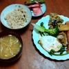 幸運な病のレシピ( 2478 )夜:唐揚げ軍団、黒豆スパニッシュオムレツ