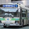 大阪駅で大阪シティバスを見る