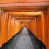 雨の伏見稲荷から京都駅でおばんざいランチのあと都路里の抹茶パフェ・・・やっぱり食べまくりの午後・・・(´-ω-`)