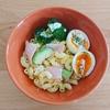 【副菜】半熟たまごマカロニサラダ【レシピ】