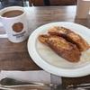 猿田彦珈琲でお茶です。