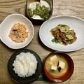 【料理初心者奮闘記】その男、42歳にして台所に立つ! 211010 回鍋肉(ホイコーロウ)豚肉とキャベツの中華甘辛みそ炒め他4品を作った話し。