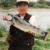 #昔釣ったサクラマス 何年やってても、何本釣っても、ほかのアングラーが釣るとものすごく嫉妬する…(笑)