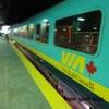 【メープル街道】モントリオール~ケベックシティ旅行 VIA鉄道に乗ってみた