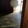 改装工事 2018/06 工事終了と掃除、洗面室ボウル破裂