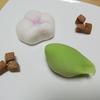 紫野源水 京都北大路  和菓子  松の翠  黒洲浜  生菓子  式部せんべい