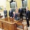 米、軍備増強へ転換…「力による平和」目指す