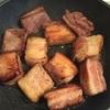 豚ばら肉の赤ワイン煮込み