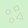 【GLSL】多角形を座標変換する