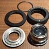 【オールドレンズ】AkaretteマウントXenon 50mm F2のマウント改造【α7C】
