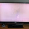 ソニー ブラビア F1 40インチテレビがついに寿命を迎えた模様