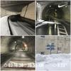 「トレーニング記録」吹雪の朝はトンネルランでヒーハー!!
