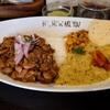 HI, HOW ARE YOU (ハイハウアーユー)でレバーパキスタンと豆のカレー(イエロー)のハーフ&ハーフ@日吉