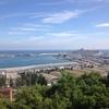 地中海の青い空
