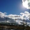 冬が近づく空