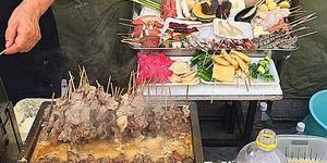 【孤独のグルメ】大阪府平野の老舗屋台「武田」の串かつ&どて煮。大阪行ったらまた食べたい!