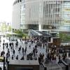 大阪駅をパノラマ撮影