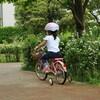 約4歳半での自転車デビュー