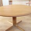 【ダイニングテーブル】円形&伸長式でフレキシブルに