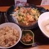 ゴーヤちゃんぷるー定食/沖縄料理 ハナハナ