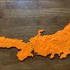 立体地図を作る -本州部分を3Dプリントしてみた-