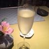 スパークリングワインで乾杯♪久々の夜デート