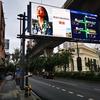 バンコクの広告、どんどん動画になってます。
