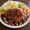 🚩外食日記(565)    宮崎ランチ   「レストラン ラブ」★13より、【メンチカツ(チーズ入り)】‼️