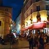 パリの下町の雰囲気と中世を感じる:ムフタール通り、パリ、フランス