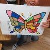 2年生:図工 水彩絵の具の絵を鑑賞