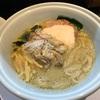603. 牡蠣味噌ラーメン@三極志(三河島):濃厚な牡蠣と浅蜊の出汁に酔いしれつつ、焼きチーズ追い飯による最高の締めくくり!