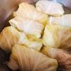 ヘルシオでキャベツを蒸して、ホットクック でロールキャベツを作る